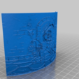 Download free 3D printing designs Lithophane  Disenchantment, Babynavy