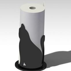 Archivos STL Limpia cualquier decoración de gatos, dderaedt