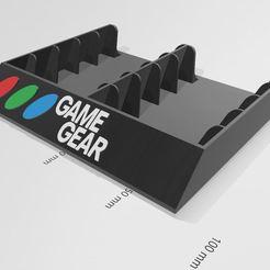 game gear 10.JPG Télécharger fichier STL support jeux game gear rangement • Modèle à imprimer en 3D, dderaedt