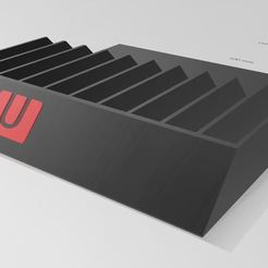 wii.JPG Télécharger fichier STL boite de rangement WII U • Plan à imprimer en 3D, dderaedt