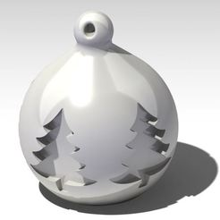 Download 3D model Christmas ball Xmas baubles 2, dderaedt