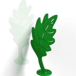 Download 3D model tree leaf, tree leaf, dderaedt