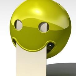 ensemble.JPG Télécharger fichier STL Dérouleur papier toilette Smiley • Objet pour impression 3D, dderaedt