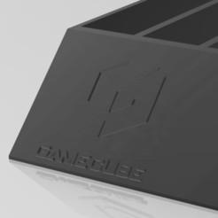 gamecube 1.JPG Télécharger fichier STL boite de rangement Gamecube • Design imprimable en 3D, dderaedt
