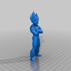 Free 3d printer files vegeta, icetoc