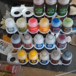 Free 3D printer designs Citadel Rack, Frazus