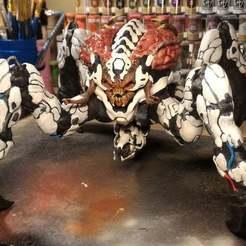 Imprimir en 3D gratis Demonio araña - Doom, Frazus