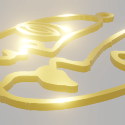 picasso01.png Download STL file Picasso Pendants • 3D printable model, amadorcin