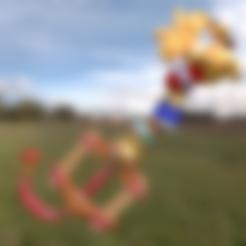 3D printing model Kingdom Hearts Key Honey Sword, amadorcin