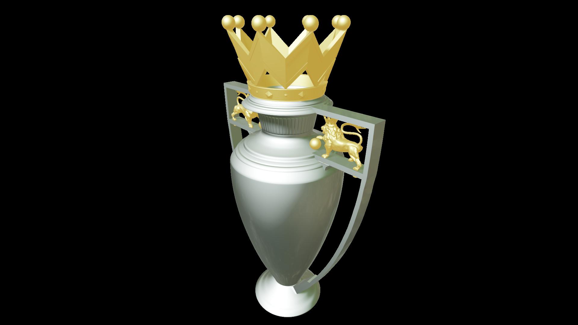 Download Stl File English League Trophy Premier League 3d Printable Model Cults