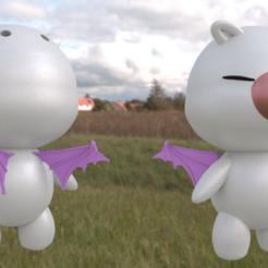 MOGURI.png Download STL file Kingdom Hearts Moguri • Object to 3D print, amadorcin