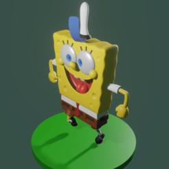 Thumb.png Download STL file SpongeBob • 3D print object, amadorcin