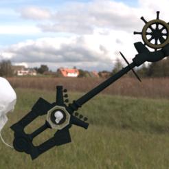 3D print model Kingdom Heart Sword heading key, amadorcin