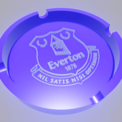 Everton.png Download STL file Ashtray Everton Football Club • 3D printer object, amadorcin