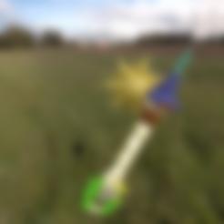 3D printing model Kingdom Hearts Lighthouse Sword, amadorcin
