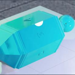 HexagonDice.png Download STL file Hexagon Says • 3D printing model, amadorcin