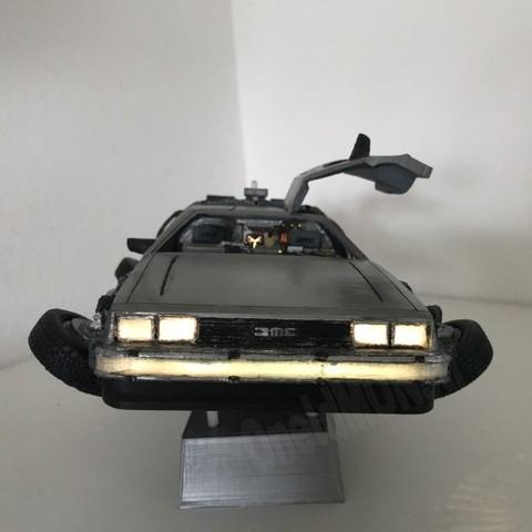 5.jpg Download free STL file DIY DeLorean Time Machine with lights!! • 3D printer model, OneIdMONstr