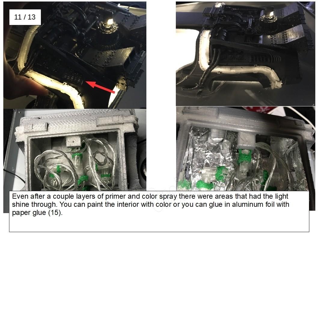 19.jpg Download free STL file DIY DeLorean Time Machine with lights!! • 3D printer model, OneIdMONstr