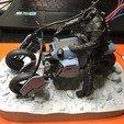 Télécharger plan imprimante 3D Death Stranding Sam sur son vélo avec des lumières LED, OneIdMONstr