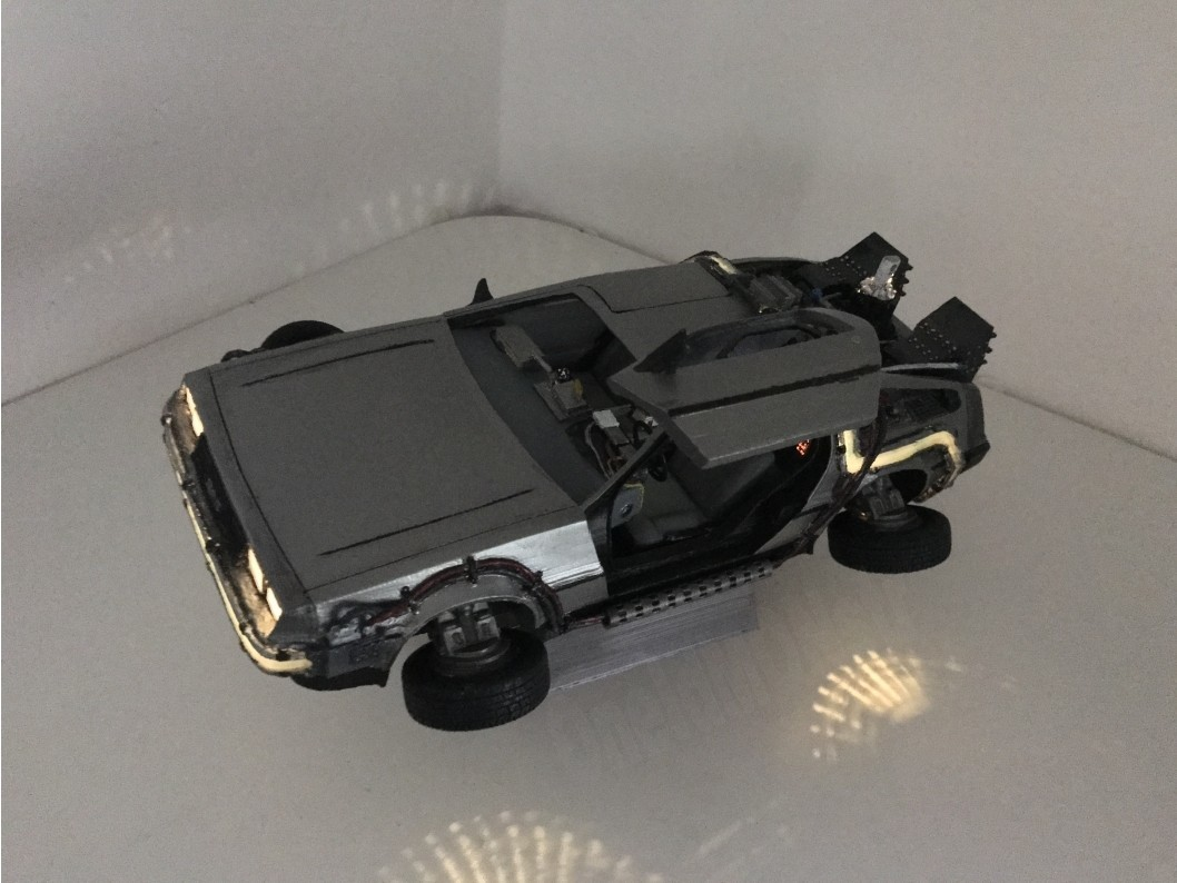 6.jpg Download free STL file DIY DeLorean Time Machine with lights!! • 3D printer model, OneIdMONstr
