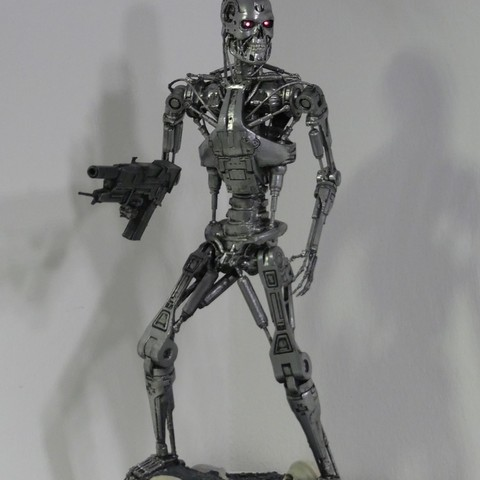 Télécharger plan imprimante 3D gatuit Base pour T-800 Endosquelette, OneIdMONstr