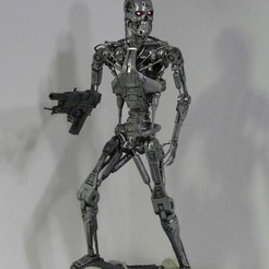 Download free 3D printer files Base for T-800 Endoskeleton, OneIdMONstr