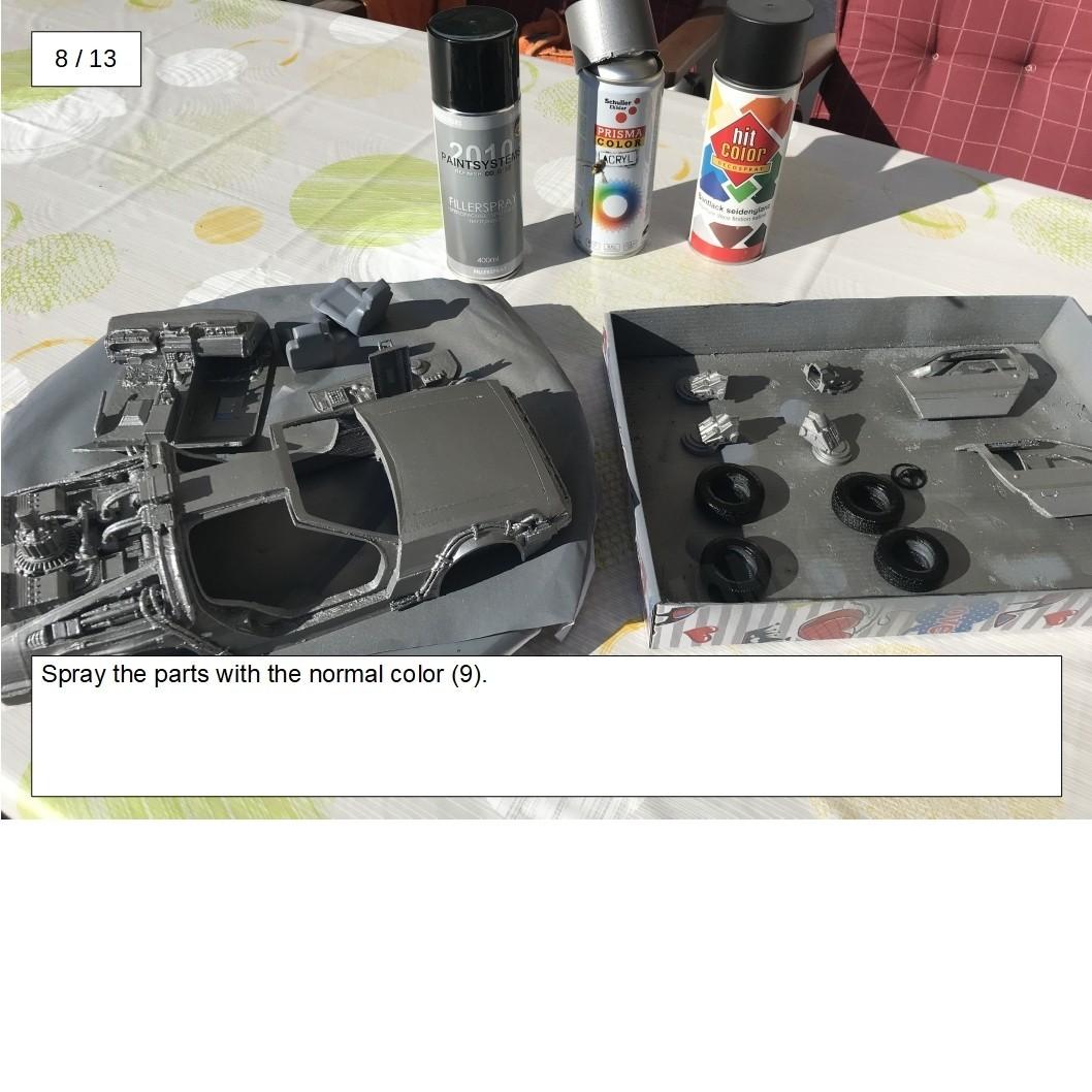 16.jpg Download free STL file DIY DeLorean Time Machine with lights!! • 3D printer model, OneIdMONstr