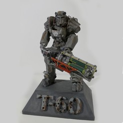 Free 3D printer files Fallout T-60 Power armor, OneIdMONstr