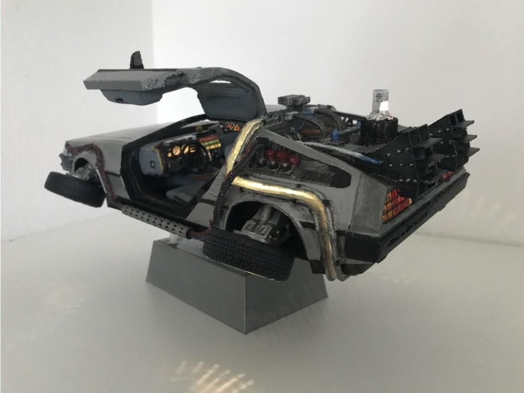 2.jpg Download free STL file DIY DeLorean Time Machine with lights!! • 3D printer model, OneIdMONstr