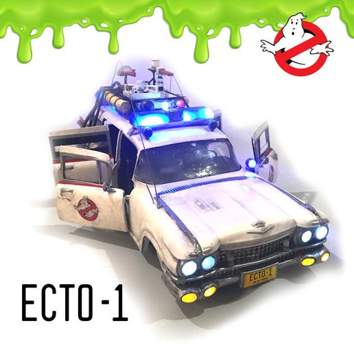 cults_sqr.jpg Download STL file Ecto-1 with lights and sound! With detailed free instruction! • 3D printing model, OneIdMONstr