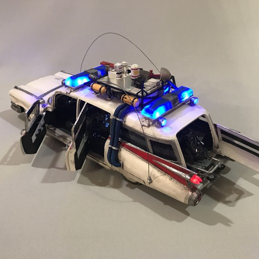 IMG_4406.JPG Download STL file Ecto-1 with lights and sound! With detailed free instruction! • 3D printing model, OneIdMONstr
