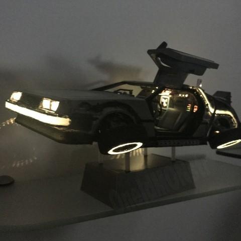 7.jpg Download free STL file DIY DeLorean Time Machine with lights!! • 3D printer model, OneIdMONstr