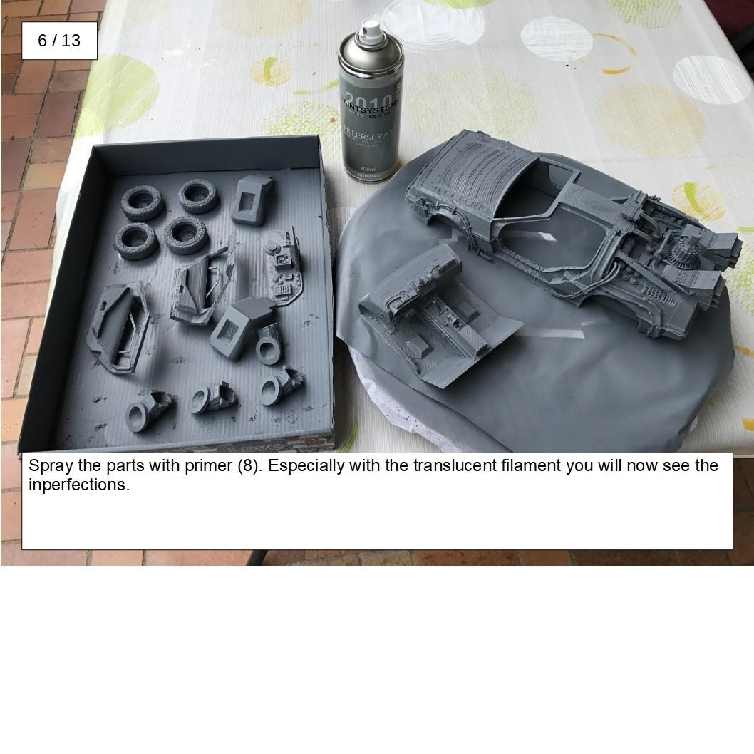 14.jpg Download free STL file DIY DeLorean Time Machine with lights!! • 3D printer model, OneIdMONstr