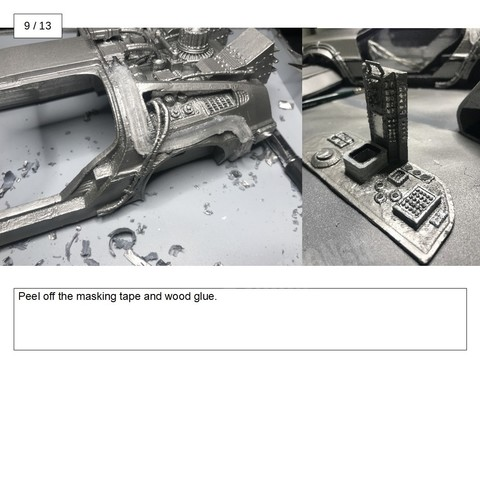 17.jpg Download free STL file DIY DeLorean Time Machine with lights!! • 3D printer model, OneIdMONstr