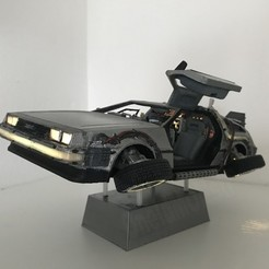 Download free STL file DIY DeLorean Time Machine with lights!!, OneIdMONstr
