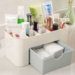 Download free 3D printing designs Makeup Organizer Box, Cerega