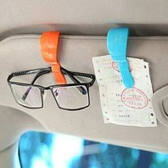 Free STL file Car Sunglasses Glasses/Card/Ticket Clips Holder, Cerega