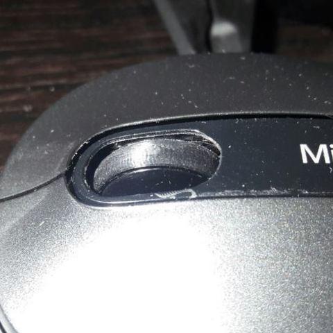 Télécharger fichier imprimante 3D gratuit Microsoft Mouse 4000 Roue de la souris, Cerega