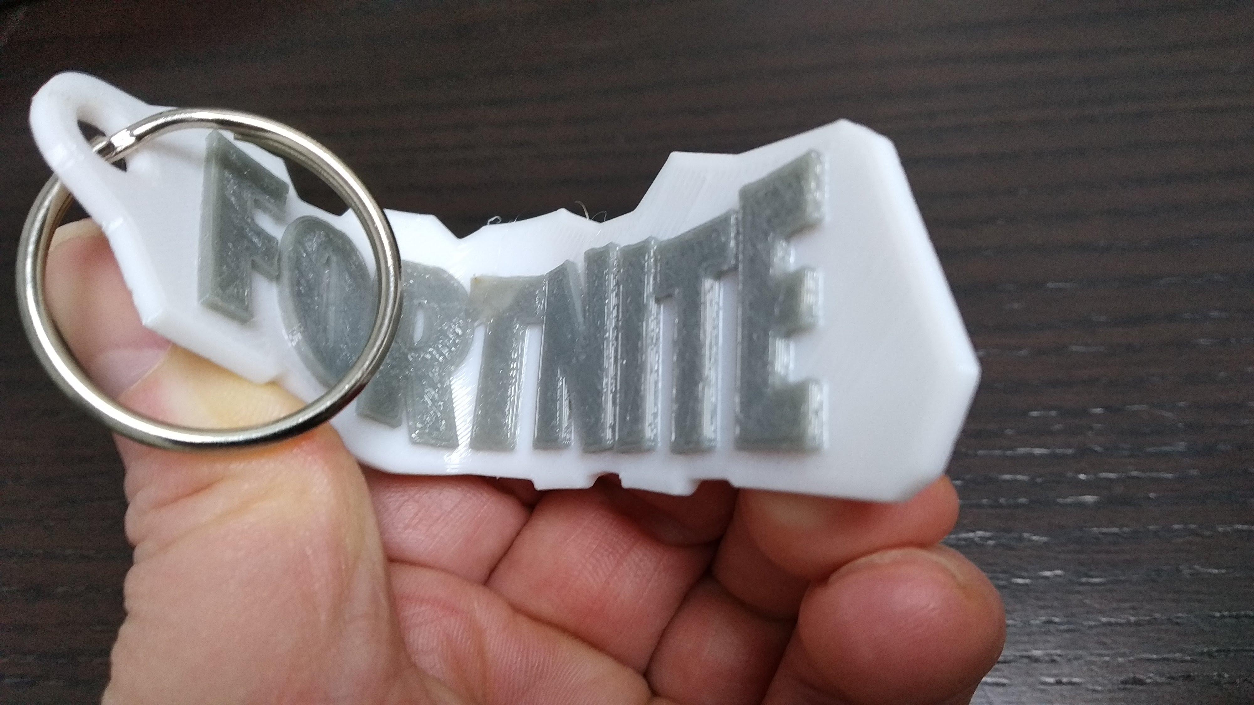 IMG_20191008_005103_1.jpg Download free STL file FortNite keyring • Model to 3D print, 3DME