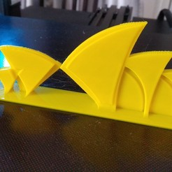 Download free STL files Sydney Opera House silhouette, 3DME
