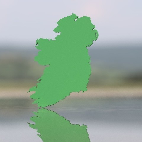 2184b06a95208c2c97095e85fe686770_display_large.jpg Download free STL file Ireland Map • 3D printer model, 3DME