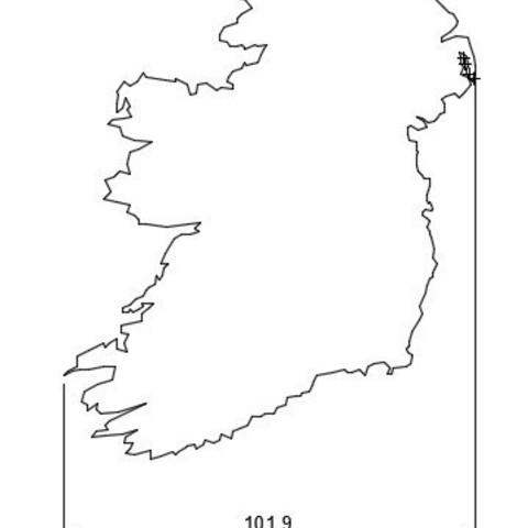 c88e33e07ab9e25b94320011fca3a88b_display_large.jpg Download free STL file Ireland Map • 3D printer model, 3DME