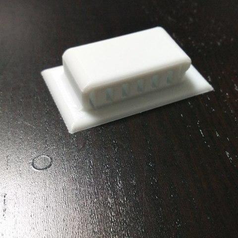 cdda2633af1a0e8342f87b203e585c42_display_large.jpg Download free STL file Underside Clip • 3D print object, 3DME