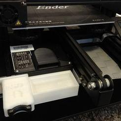 modelos 3d gratis Soporte Ender 3 MicroSD a SD, 3DME