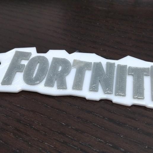 Download free 3D printing models FortNite keyring, 3DME
