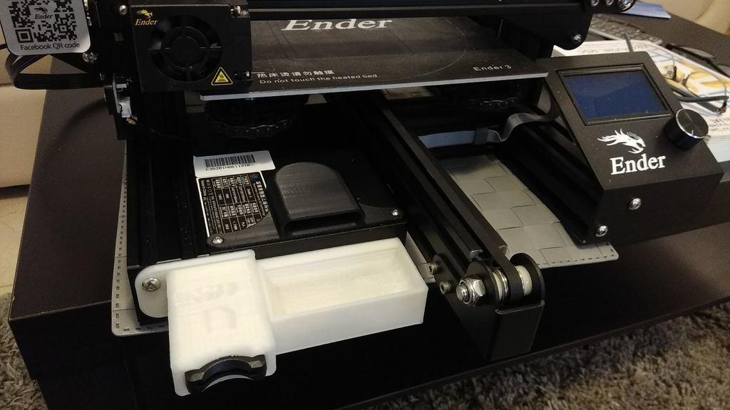 f532cfebd66b03e9bd02e0b2aebb7d69_display_large.jpg Download free STL file Ender 3 SD card front loading bracket • 3D printing object, 3DME