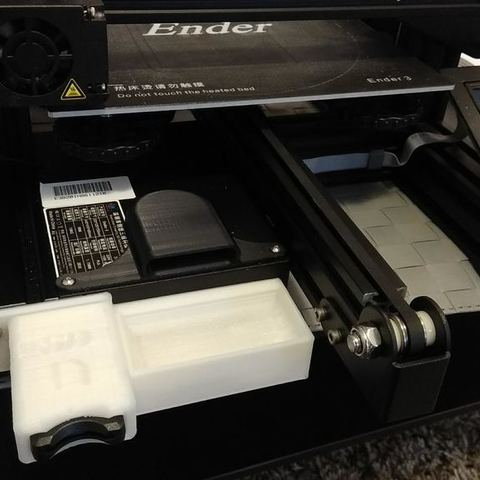Download free 3D printing designs Ender 3 SD card front