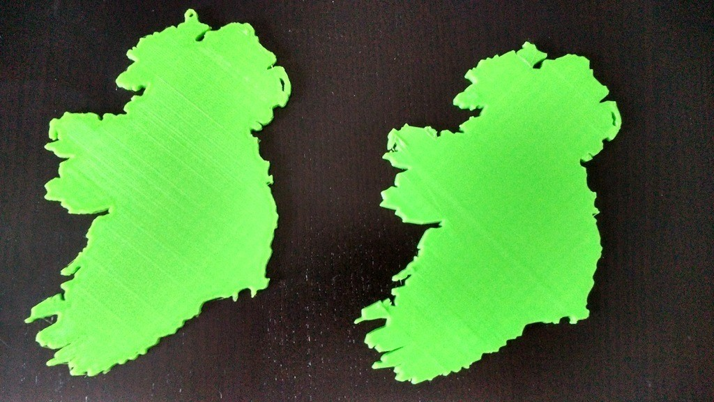 9c52aef0205f9ff92ea3259a70780baa_display_large.jpg Download free STL file Ireland Map • 3D printer model, 3DME