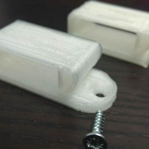 Download free 3D printer templates Underside Clip, 3DME