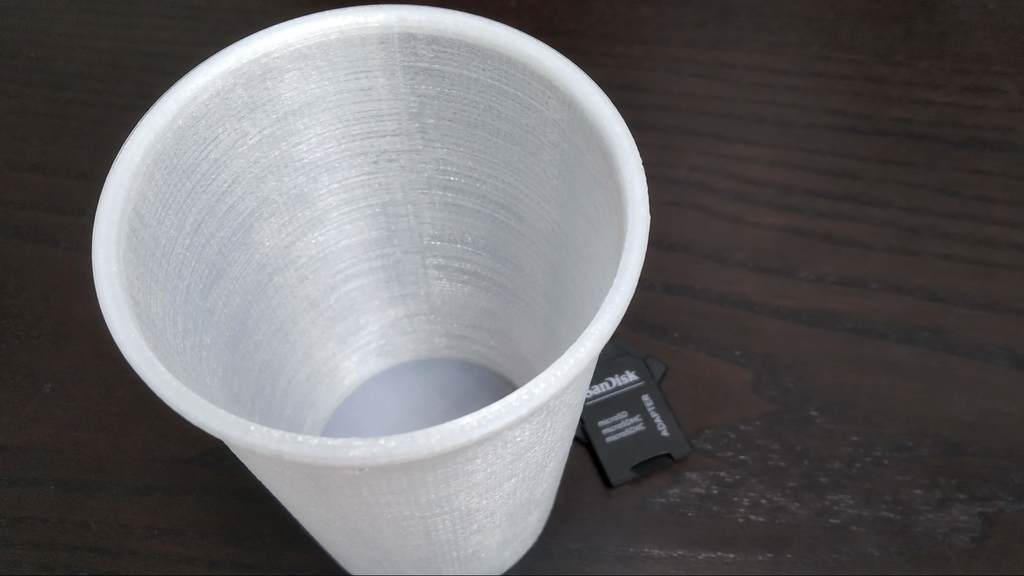 0958ff53240c3744461f0e2ee0a07f5b_display_large.jpg Download free STL file Cup for fruit fly trap / Fruchtfliegen fänger • 3D printing object, 3DME